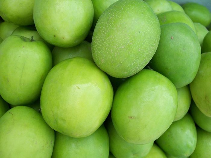Backgrounds Close-up Day Food Food And Drink For Sale Freshness Fruit Full Frame Granny Smith Apple Green Color Healthy Eating Market Market Stall Monkey Apple No People Outdoors Retail
