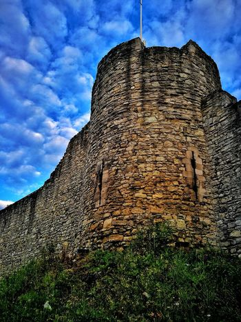 Low Angle View Cloud - Sky Sky No People Day Outdoors City Walls SOUTHAMPTON CITY Medieval Architecture