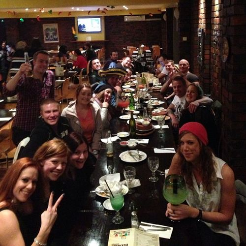 My bday dinner. Awesome night! Bday Dinner Tacobills Friends picoftheday photooftheday