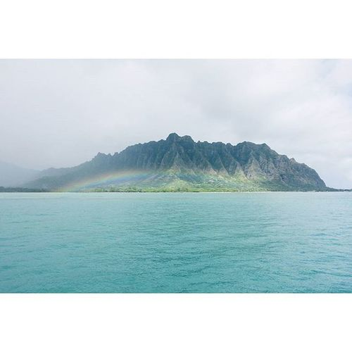 Bottom of a Rainbow 😚 Bottomofarainbow Koolaus Oahu Hawaiinei Hivibes Venturehawaii