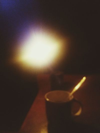 Candlelight Over Coffee Coffee Coffee Cup Coffee Time Candle Flame Blackout Drink Indoors