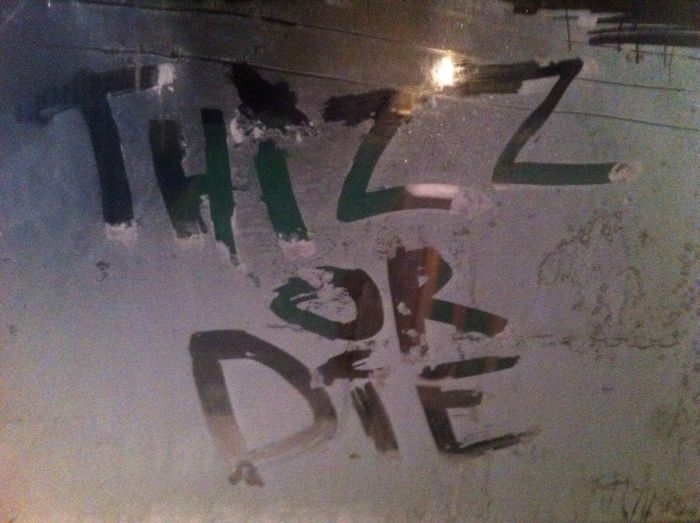Snow Thizzles! Art Bayarea2Detroit Creativity Full Frame Graffiti HipHop Information Michigan No People Sign SnowThizzles Street Art Symbol Thizzedout ThizzFamilia Thizzlatin ThizzNation Wall Western Script