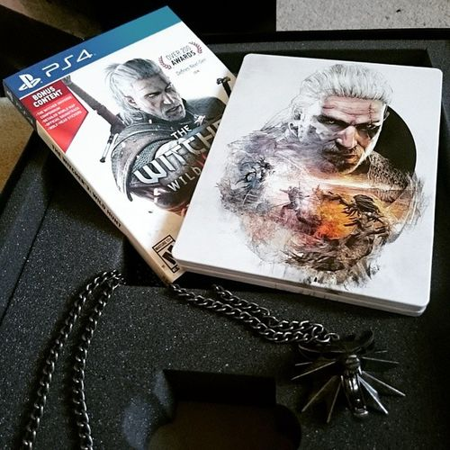 Friends and family...you won't be seeing me for a while. Thewitcher3 PS4 Thewitcher3collectorsedition Videogames