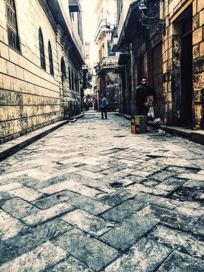 W A Y Adapted To The City El Moez Street Vintage Street Street Photography Arab Street Poor Places Symmetrycal Street Poor Man Simple Life Egypt Hidden Beauty