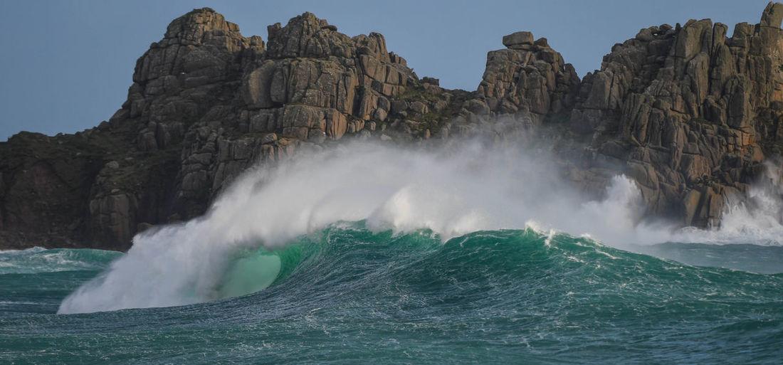 Big waves in cornwall