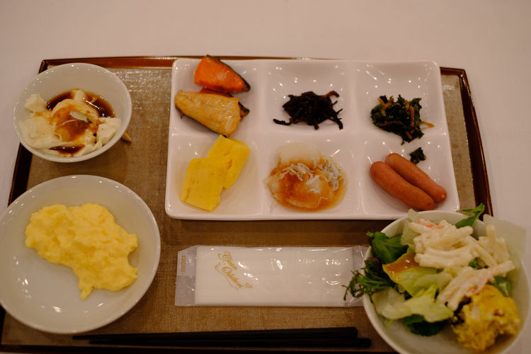 Japan Japan Photography Japanese Food Japanese Breakfast Breakfast 朝食 Fujifilm Fujifilm_xseries X-t2 FUJIFILM X-T2 朝ごはん Food And Drink Food Freshness Ready-to-eat Healthy Eating Wellbeing Indoors  Plate Serving Size Meal Still Life No People High Angle View Buffet Breakfast Buffet