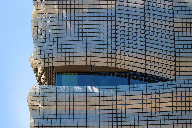 Architecture Built Structure Sky Building Exterior Modern Low Angle View Building Office Building Exterior City Glass - Material Pattern Outdoors Blue Modern Architecture