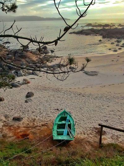 Bueu Playadelagos Pontevedra Galicia SPAIN Playa Beach Sky Nature Landscape_Collection