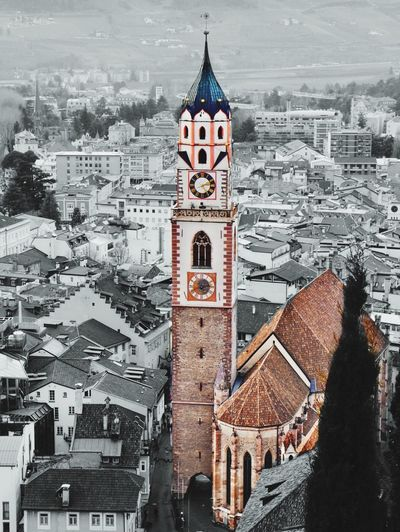 Kirche Church Great Views Cityscape Oldtown Downtown Tower Meran Südtirol Italia