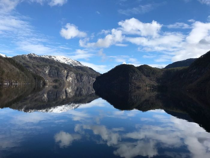 Fjord Sky Cloud
