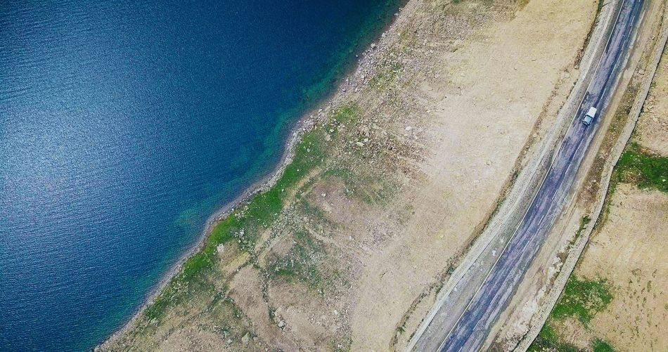 Road to Heaven High Angle View Nature Day Full Frame No People Tranquility Water Landscape Beauty In Nature Aerialcinematography Outdoors Dji Djimavic Dji Global Aerial View Aerial Shot Beauty In Nature Scenics
