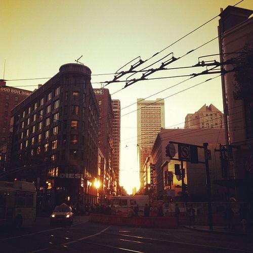 Sfo Sanfrancisco California West downtown