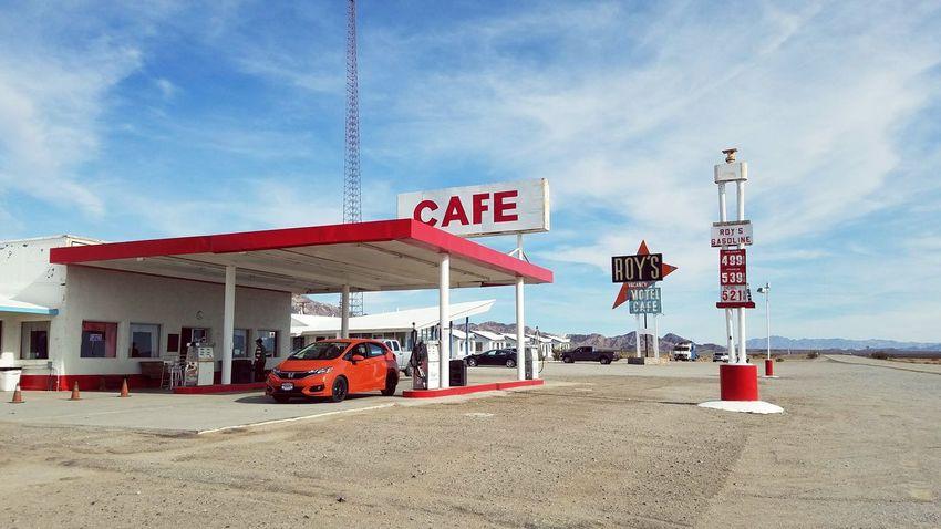 Amboy Ghost Town 👻 Ghosttown Gas Station Ghost Town Vintage Cafe Honda Amboy Mojave Desert Desert Sky Sand Day Gasoline