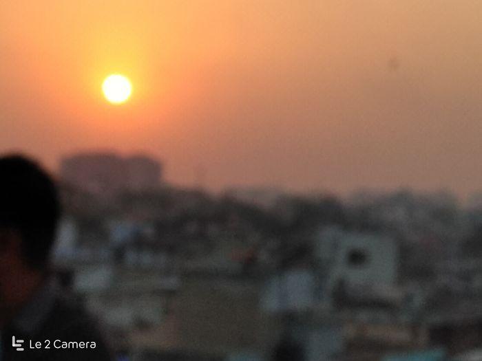 Sunsetlover Sunset Utrayan 2k17 Ahmedabad My Awesome Ahmedabad