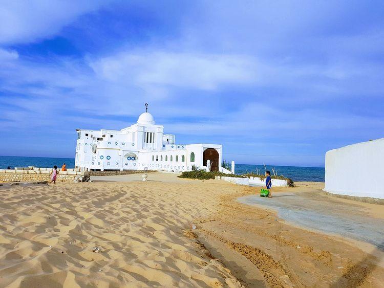 Beach Sea Travel Destinations Sky Summer Tourism Outdoors Water Vacations Eyeem Tunisie Eyeem Tunisia المرسى La Marsa Cloud - Sky Enjoying The Sun Street Light Vue Sur Mer