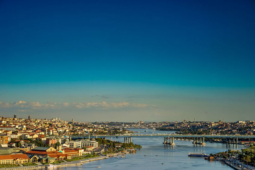Istanbul Cityscapes Urban Landscape Bosphorus Cityscape