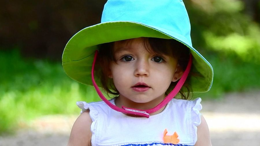 """ Little Miss Outback "" * * * Summer Adventure Casual Clothing Child Childhood Clothing Cute Females Girls Headshot Leisure Activity Looking At Camera Outdoors Portrait Sun Hat Sun Hats The Portraitist - 2018 EyeEm Awards The Fashion Photographer - 2018 EyeEm Awards 10"