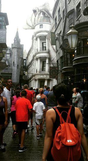 Vacation Florida Universal Studios  Harrypotter Diagon Alley Gringotts