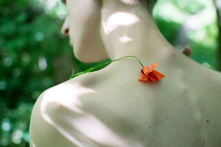 Focus On Foreground Day One Person Plant Nature Human Body Part Outdoors Body Part Flower Close-up Freshness Invertebrate Beauty In Nature Insect Flowering Plant Selective Focus Skin Skinny