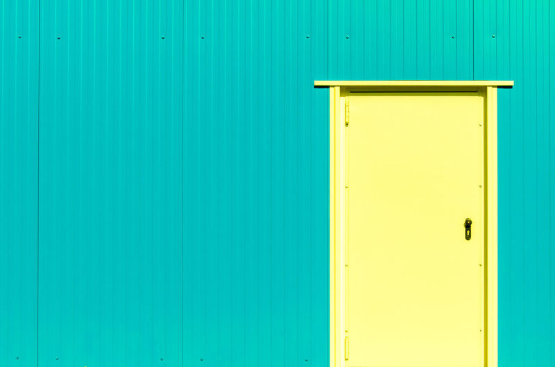 Architecture Architecture_collection Modern Modern Architecture Architectural Detail Architecture Architecturelovers Backgrounds Blue Building Exterior Built Structure Close-up Copy Space Day Door Green Color Minimalism Minimalistic Minimalobsession No People Outdoors Pastel Colors Turquoise Yellow California Dreamin