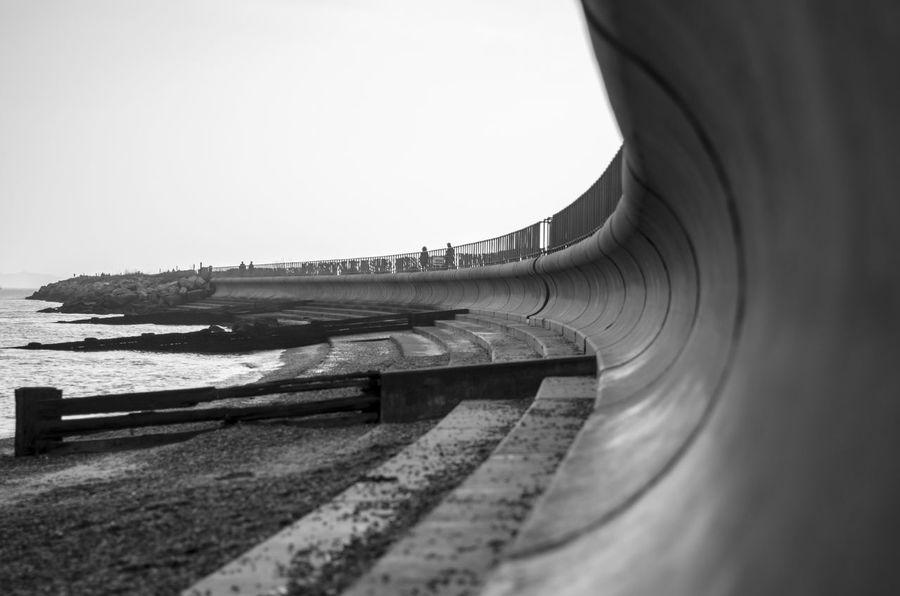 Swirl Beachfront Coastline United Kingdom Blackandwhite Photography Vanishing Point EyeEmNewHere