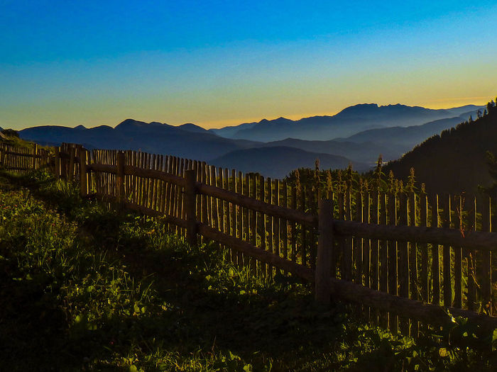 Alpenvorland Fences & Beyond Garmisch-partenkirchen Mountain Range No People Schachenhaus Sky Sonnenaufgang First Eyeem Photo