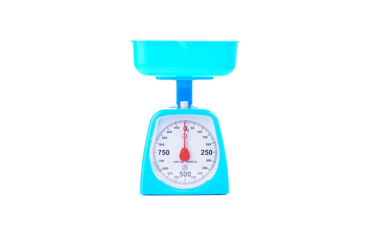 Kitchen Scale The Kitchen Scale  Conceptual New EyeEm Selects Kitchen Subject Objects Clock Face Minute Hand Clock Time White Background Studio Shot Blue Business Finance And Industry Kitchen Counter Kitchen Sink Domestic Kitchen