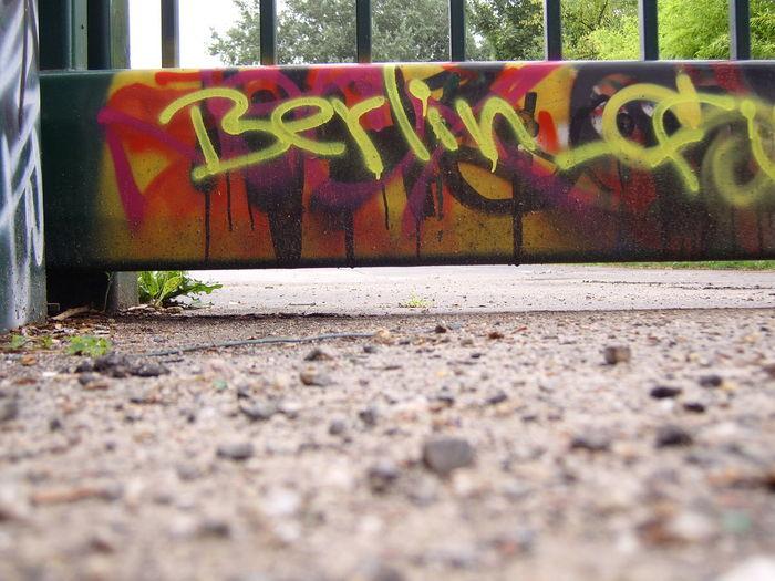 E 605 Phsychopath Berliner Ansichten Day Graffiti No People Outdoors