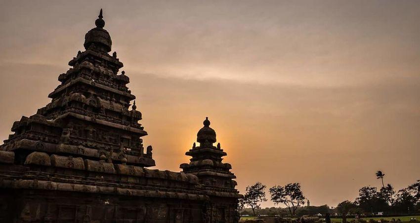 Enchantingtamilnadu Sunset Temple Architecture Weekend Getaway Photography