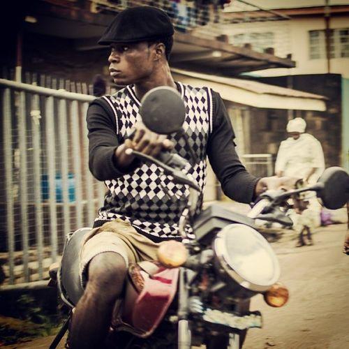 The city of Red bikes! Naija Nigeria Nigerian Okada africa Lagos lagosnigeria streetphotography