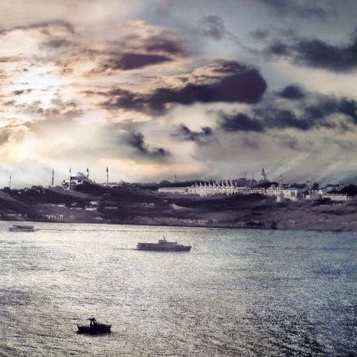Painting Istanbul The Bosphorus Sky_collection
