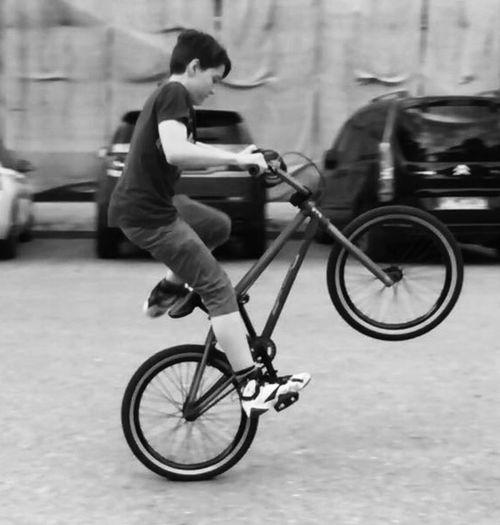 Bmx  BMX ❤ Wheelie Hobby Sport München