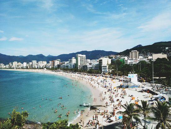 Enjoying Life Brazil Brasil Enjoying Life Beach Sunny Day Pedra Do Arpoador Summer Rio De Janeiro Sea And Sky Sunny Ipanema Beach pmg_jan Genuine Brazil Images Live For The Story