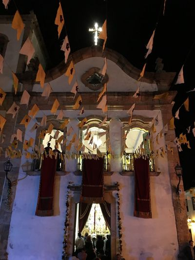 No Filter, No Edit, Just Photography Paraty Street Architecture Low Angle View Built Structure Hanging Illuminated No People Lighting Equipment