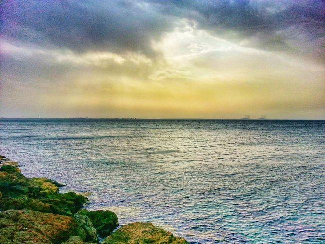 Aljubail Beach Sky And Clouds Sunrise