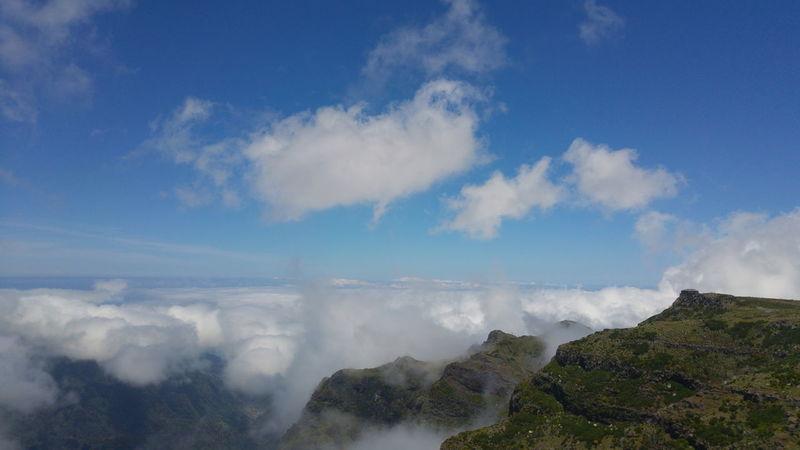 Touching the sky. Highplace Highaltitude Above The Clouds Mountains Clouds Sky Nikon D3200 18-55mm Nikonphotography Madeira Madeiraisland Madeiradigital Picodoarieiro Fine Art Photography
