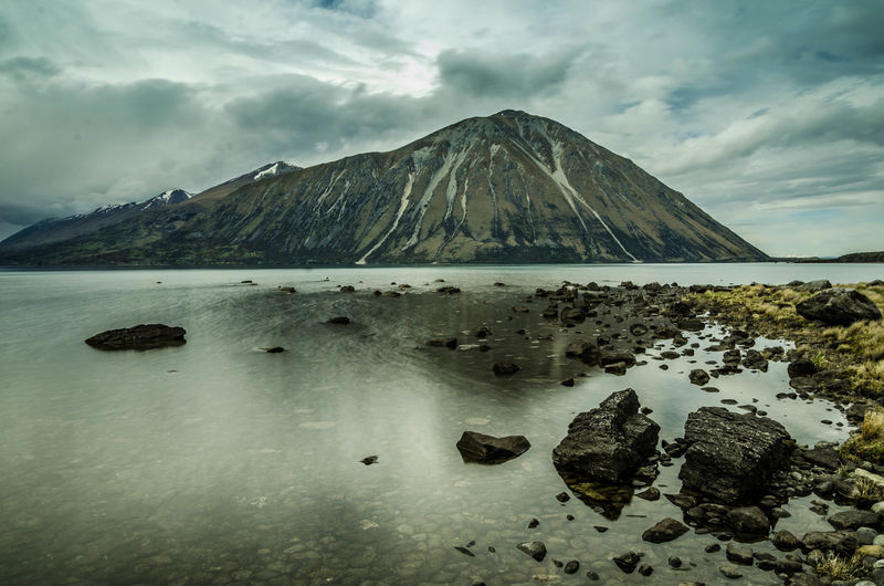Mountain No People Scenics Landscape Outdoors Day Beauty In Nature Nature Luminosity Long Exposure Clear Sky Water
