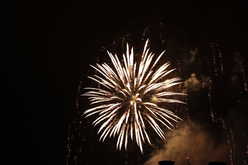 Let's have an amazing year Firework Night Event Celebration Arts Culture And Entertainment Firework Display Illuminated Exploding Motion Low Angle View Sky Glowing Firework - Man Made Object Long Exposure No People Nature Light Blurred Motion Smoke - Physical Structure Sparks