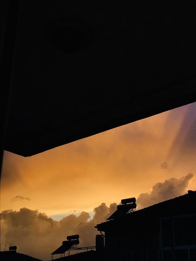 Sky Sunset Architecture Built Structure Silhouette Building Exterior Cloud - Sky Nature Beauty In Nature Dramatic Sky Residential District