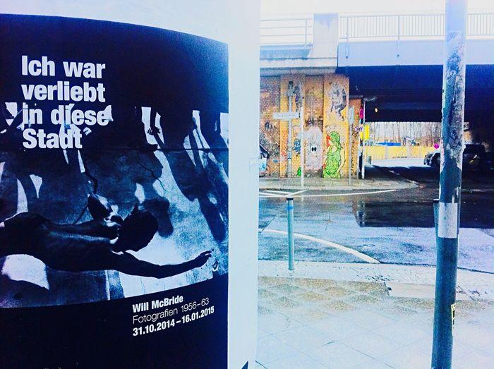 """ Ich War Verliebt In Diese Stadt "" | Dircksenstraße / Ecke Münzstrasse | Streetart | El Bocho | Streetart El Bocho | Street Art"