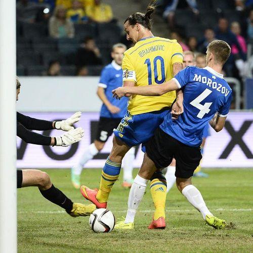 Zlatan baee. ?? Backheel Topscorer Sweden Bosnian  croatian euroqualifiers amazing orgasmic kingzlatan