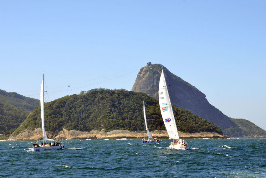 Alexandre Macieira Barco Beauty In Nature Boat Brasil Brazil Famous Place Nautical Vessel Regata Regatta Rio Rio De Janeiro Rippled Sailboat Sailing Sea Ship Ships Sugarloaf Tourism Transportation Travel Destinations Water