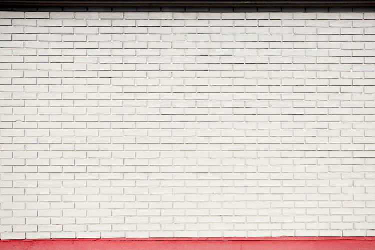 white brick wall texture Brick Wall White Texture Background Pattern Bricks Decorative Concrete Material Cement Stucco Surface Stonework Rough Structure Solid Architecture Space Building Exterior Tile Abstract Red Striped