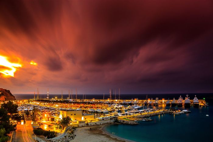 EyeEm Selects Cityscape City Sea Nautical Vessel Sunset Water Yacht Beach Harbor Lightning Pier Marina