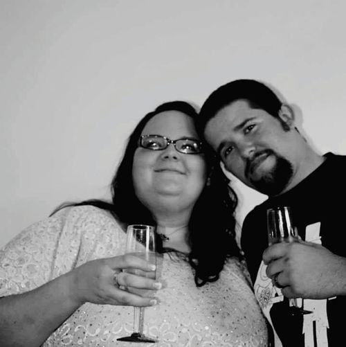 Daughter and son in law first toast My Daughter Son In Law First Toast We Are Family Married Black And White Cheers Love ♥