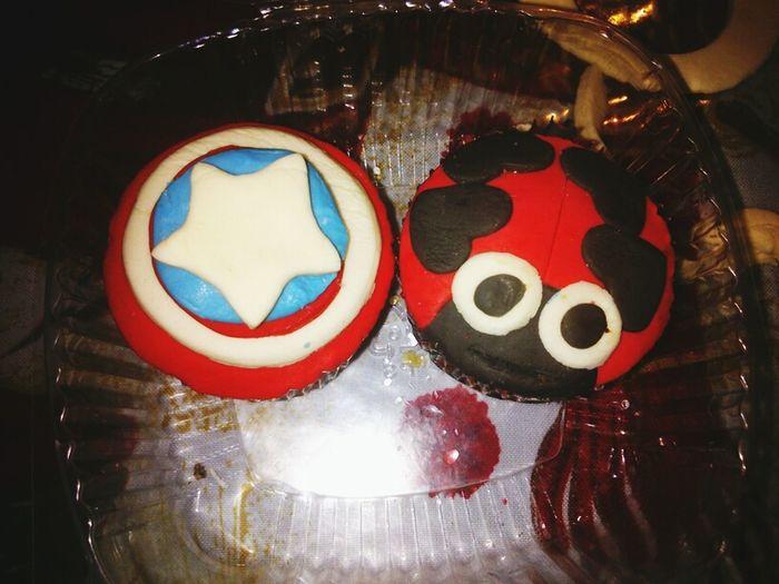 Cupcake Cupcakes Times Capitan America