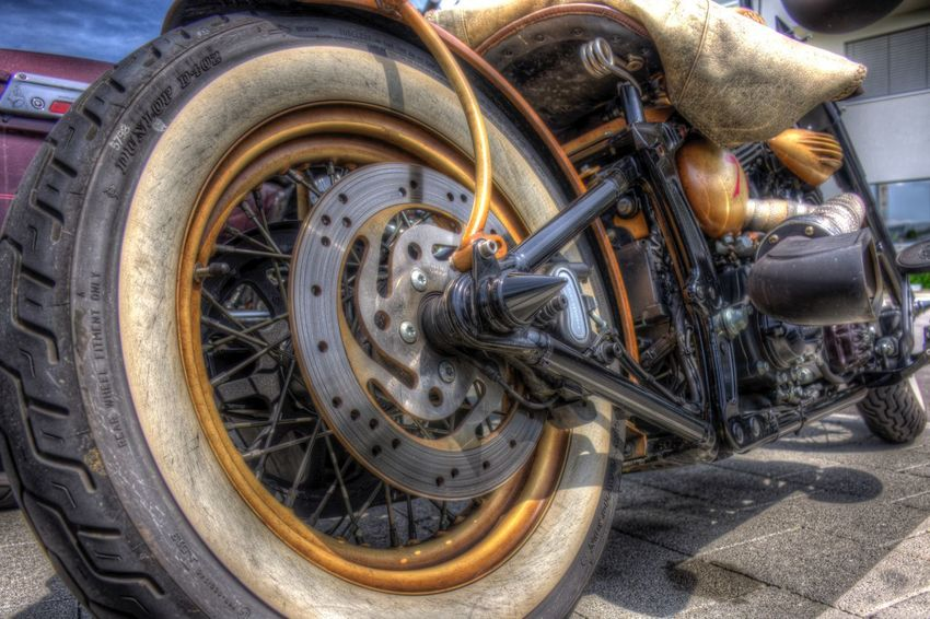 DDESIGN HDR PICTURE Hdrphotography Hdr Edit Hdr_Collection EyeEm Best Shots HDR First Eyeem Photo Transportation Mode Of Transportation Wheel Land Vehicle Day No People Metal Sunlight Street Still Life Outdoors Motorcycle Parking Close-up Motor Vehicle Vehicle Part Stationary High Angle View Tire Car