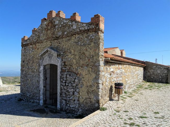 N. Srª das Neves - Montejunto Worship Ancient Architecture Building Exterior Built Structure Castle Clear Sky Day History No People Old Church Old Ruin Outdoors Sky