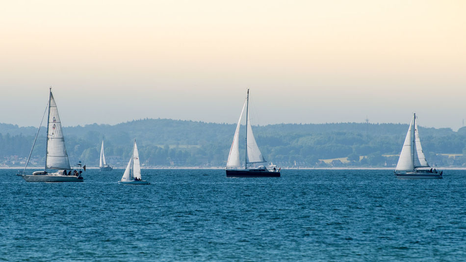 Nautical Vessel Sailboat Sailing Sea Ship Sailing Ship Passenger Craft Yacht Water Transportation Direction Mast Tall Ship No People Outdoors Day Crew Yachting Sky Let's Go. Together.