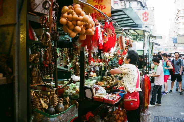 Streetphotography Old Hong Kong City Life